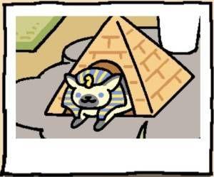 Neko Atsume Cat Ramses the Great