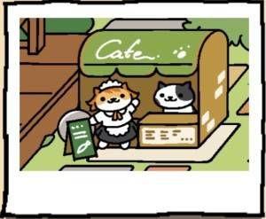 Neko Atsume Cat Sassy Fran