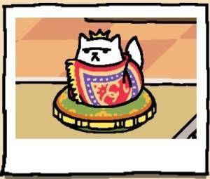 Neko Atsume Cat Xerxes IX