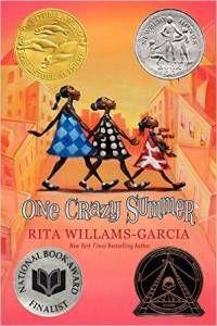 One Crazy Summer by Rita Williams-Garcia cover