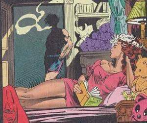 Habits of Highly Successful Mutants: Gambit smokes and Rogue reads. We all know which one makes you look cooler.