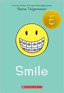 Smile by Raina Telgemeier cover