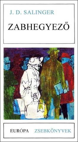 The Catcher in the Rye cover Hungarian by Európa Könyvkiadó