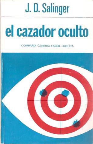 The Catcher in the Rye cover Spanish by Compania general fabril editora