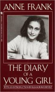 The Diary of a Young Girl by Anne Frank cover