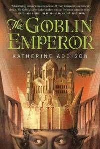 The Goblin Emperor by Karen Addison cover