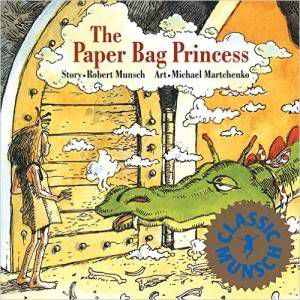 The Paper Bag Princess by Robert Munsch cover