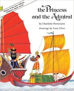 The Princess and the Admiral by Charlotte Pomerantz cover