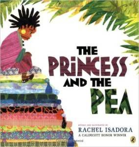 The Princess and the Pea by Rachel Isadora cover
