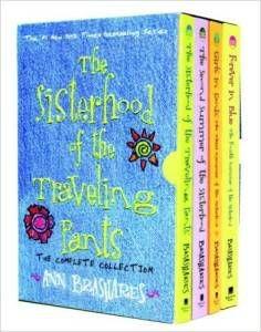The Sisterhood of the Traveling Pants by Ann Brashares box set