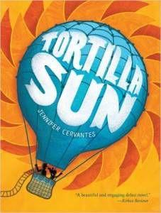 Tortilla Sun by Jennifer Cervantes cover