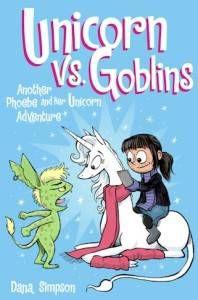 cover of unicorns vs. goblins