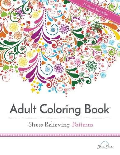 7 Adult Coloring Books for Stress and Anxiety