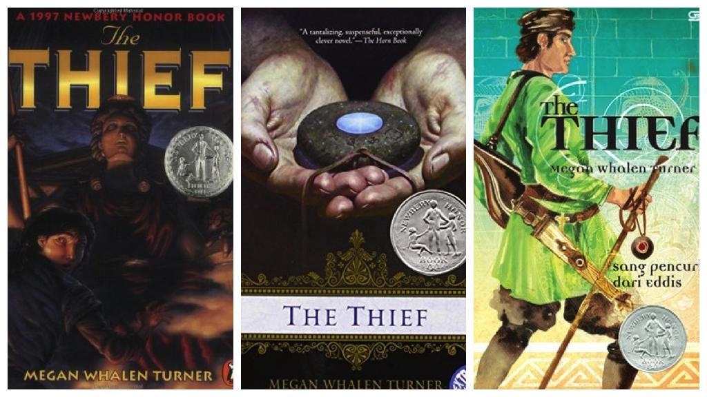 the thief megan whalen turner collage