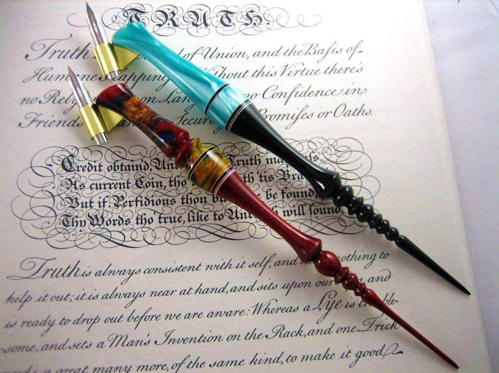 Oblique Pen Holders from Unique Obliques