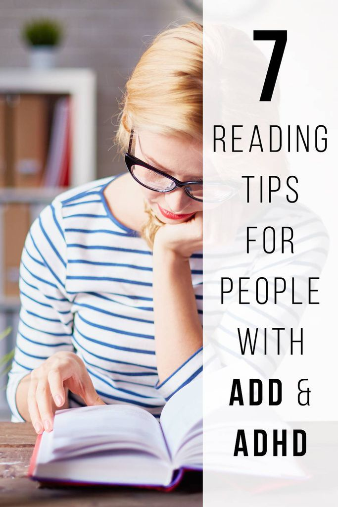 7 Reading Tips for People with ADD/ADHD