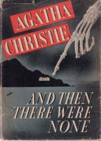 and then there were none agatha christie cover
