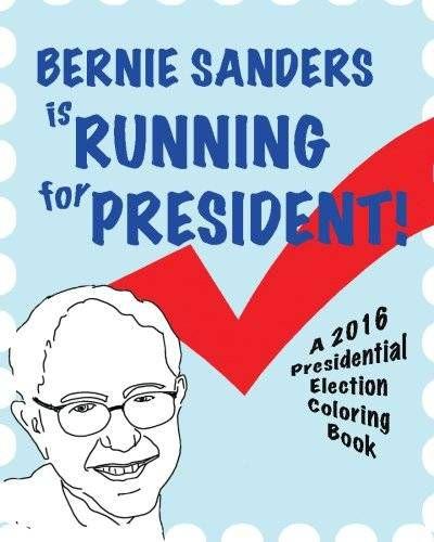 Bernie Sanders coloring book
