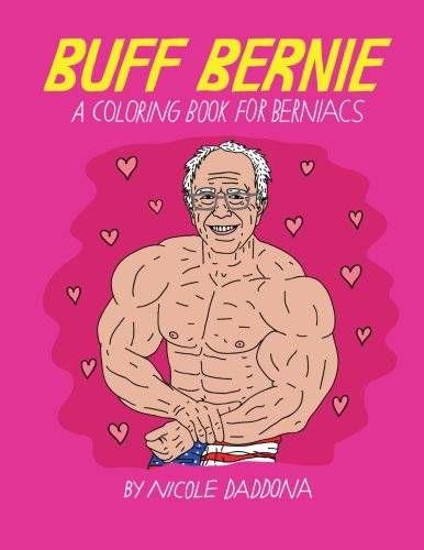 Buff Bernie coloring book