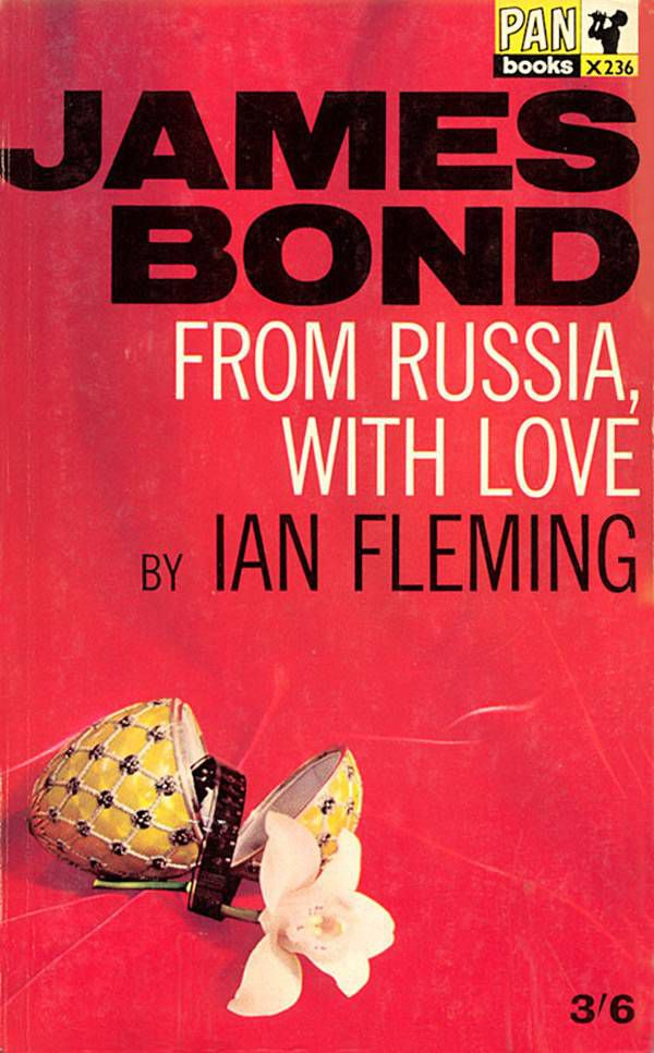 From Russia with Love by Ian Flemming