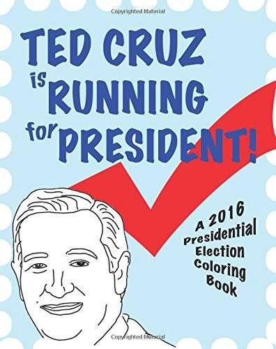 Ted Cruz coloring book 2