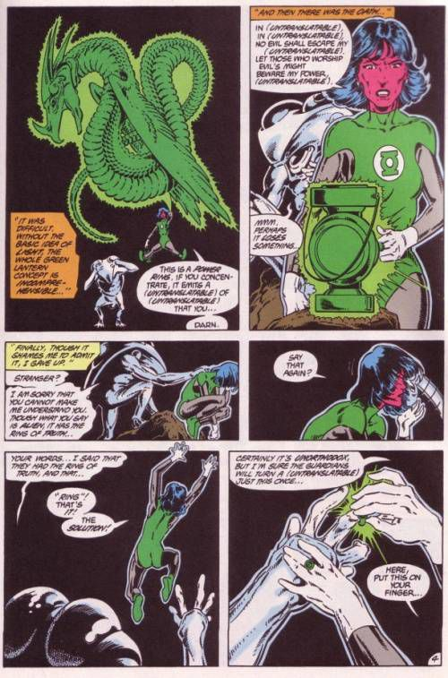 Tales of The Green Lantern Corps Annual #3. 1987