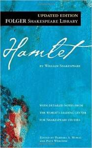 hamlet by William Shakespeare Cover