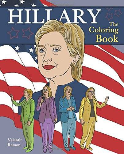 hillary clinton the coloring book