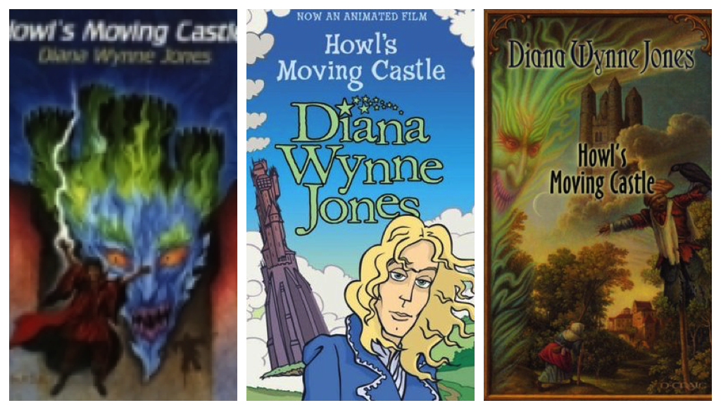 howl's moving castle cover collage