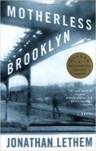 Motherless Brooklyn book cover