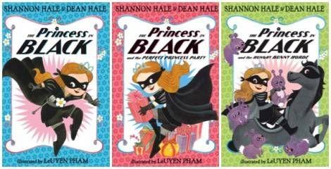princess in black boks