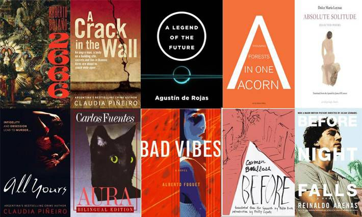 1st set of ten books for 100 Latin American Books to Read