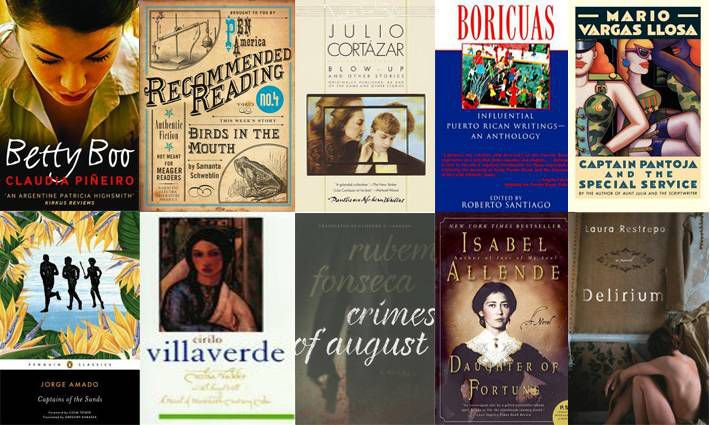2nd set of ten books for 100 Latin American Books to Read