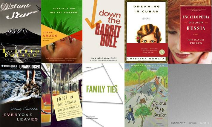 3rd set of ten books for 100 Latin American Books to Read
