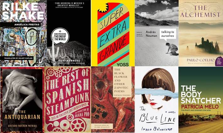 6th set of ten books for 100 Latin American Books to Read