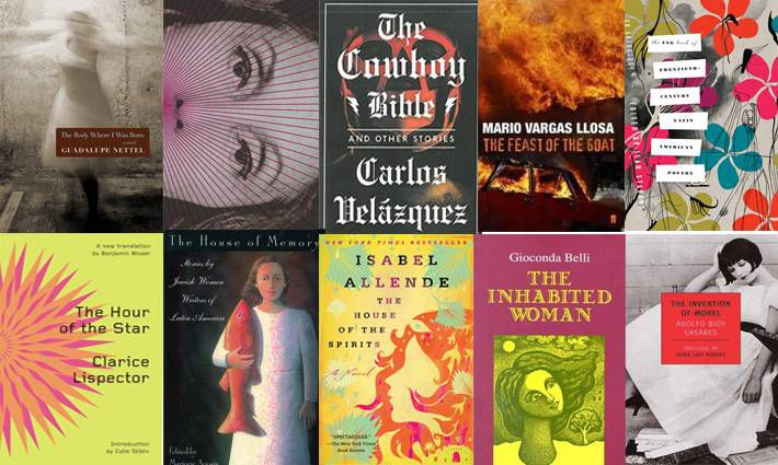 7th set of ten books for 100 Latin American Books to Read