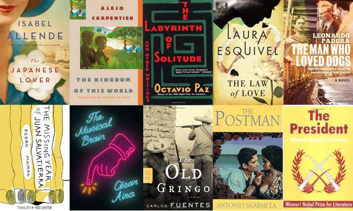 8th set of ten books for 100 Latin American Books to Read