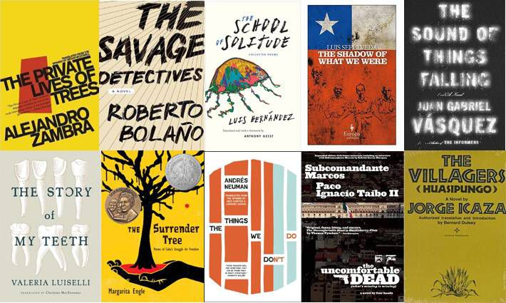9th set of ten books for 100 Latin American Books to Read