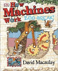 How Machines Work Zoo Break book by David Macaulay