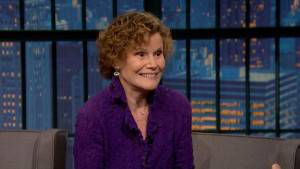Judy Blume Late Night with Seth Meyers