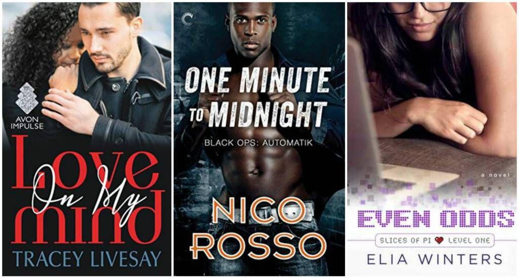 July Diverse Romance Collage