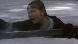 Little Women 1994 Amy fallen through ice
