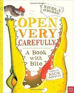 Open Very Carefully book by Nick Bromley and Nicola O'Byrne
