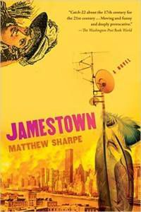 cover of jamestown by matthew sharpe
