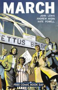march free comic book day john lewis andrew aydin nate powell cover
