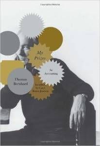 my prizes by thomas bernhard