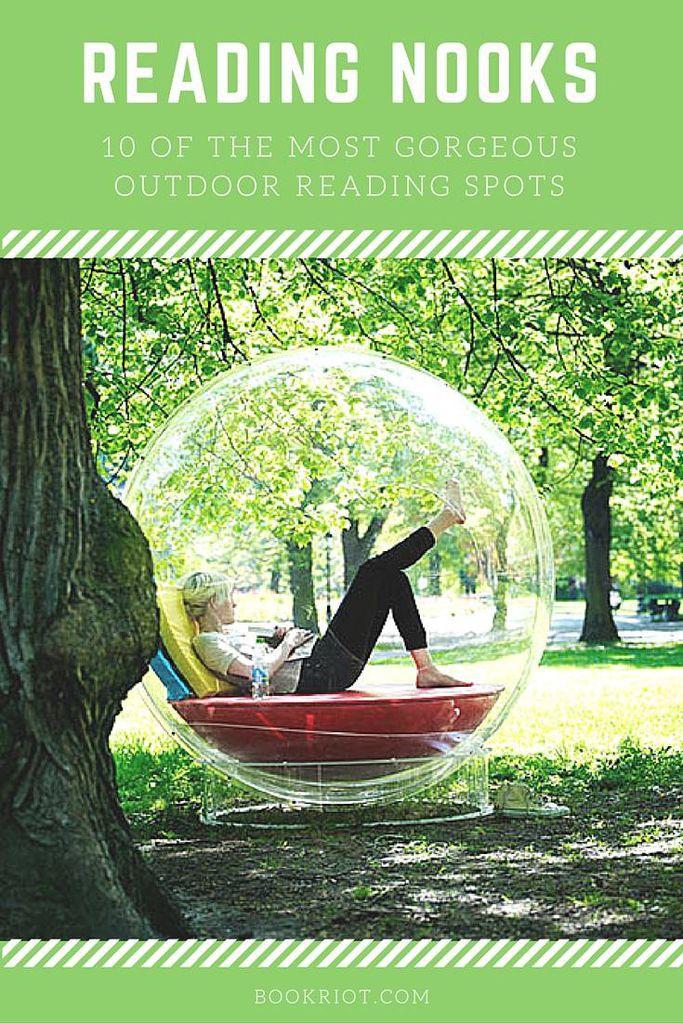 10 Gorgeous Outdoor Reading Nooks