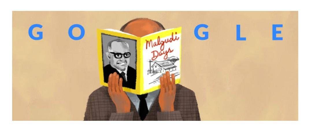 10:10:14 R. K. Narayan's 108th Birthday India