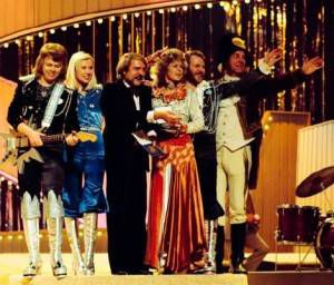 The Eurovision Song Contest helped launch the career of ABBA, representing Sweden at Brighton in 1974.