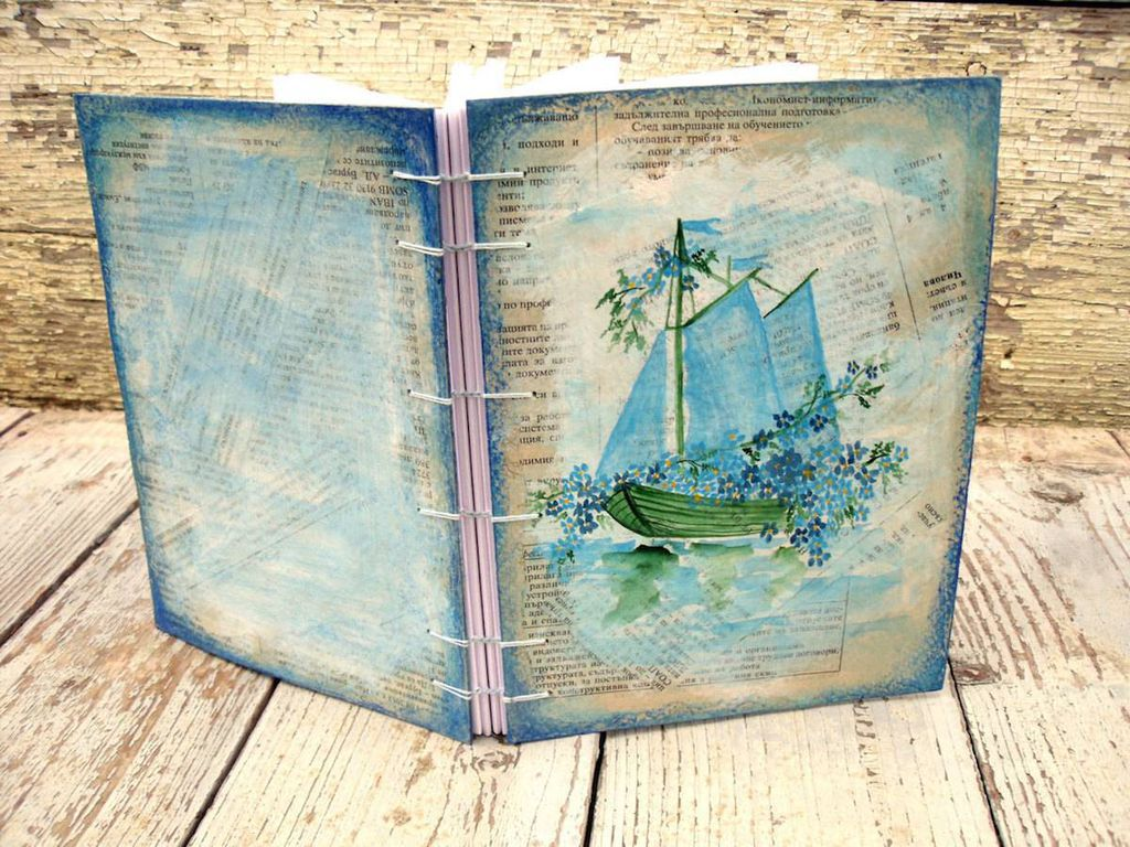 Blue Sailboat Diary